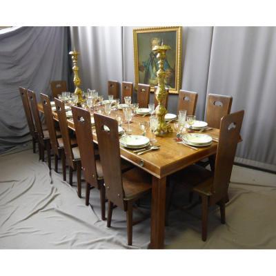 Table salle manger sur proantic for Salle a manger jacob