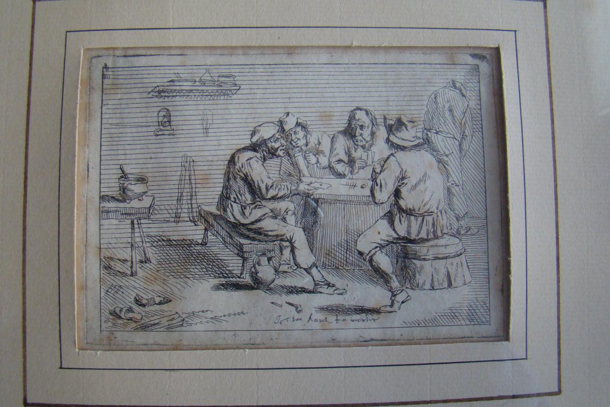 Taverne Flamande par Jean Thomas Van Kessel