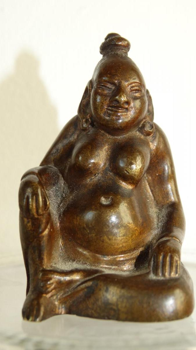 Couple de sages en bronze ( CURIOSA)