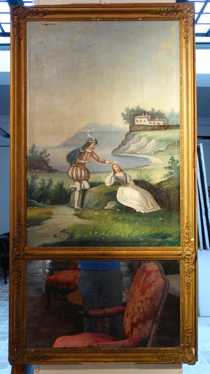 Trumeau d'époque 19ème