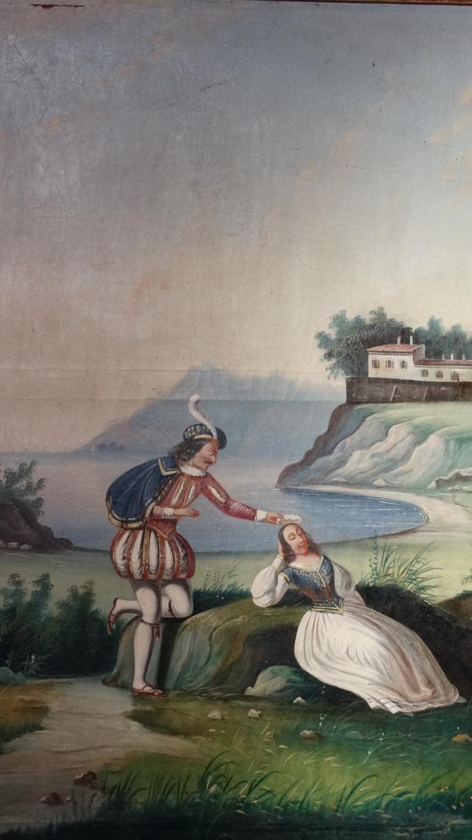 Trumeau d'époque 19ème-photo-1