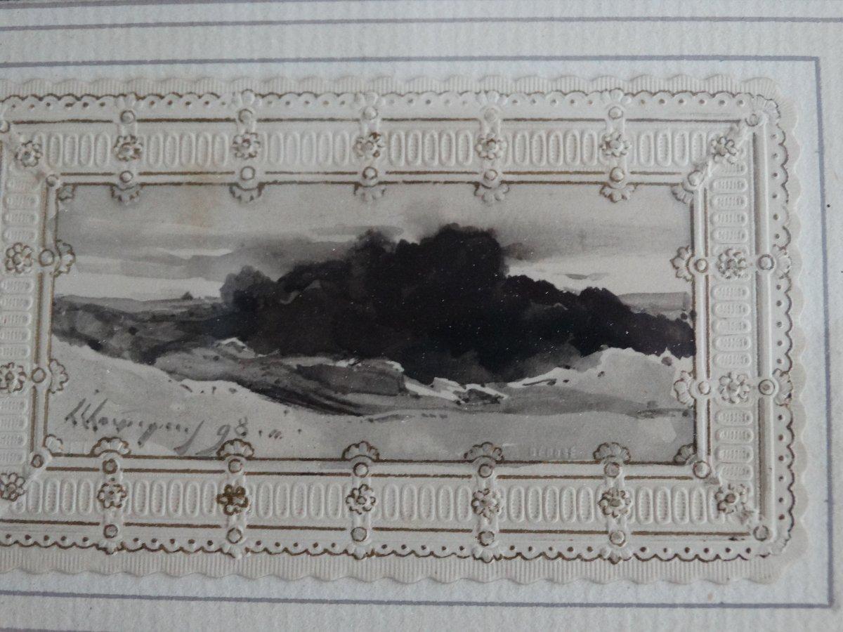Paysage par Henri-Joseph Harpignies