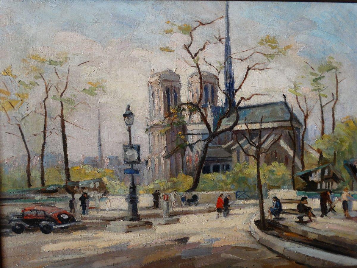 Notre-Dame de Paris par E. Maclet