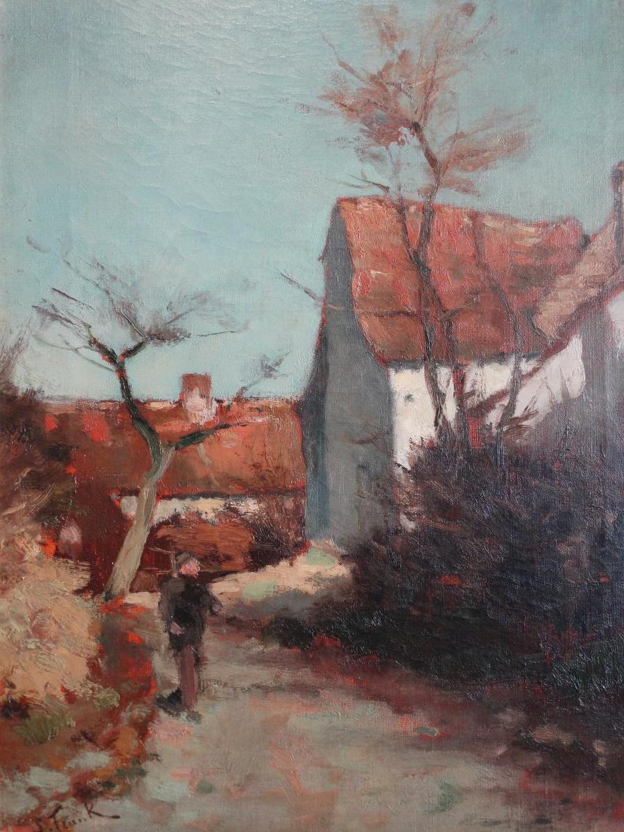 Paysage de Lucien Frank