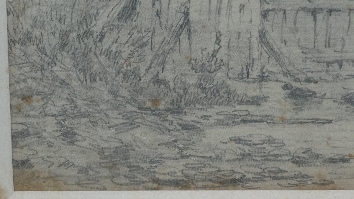 """""""Mare aux canards et pêcheur""""-photo-3"""