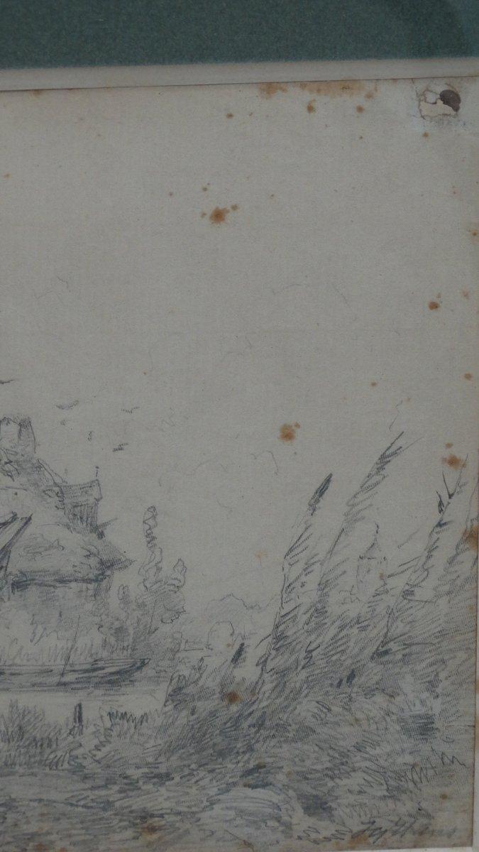 """""""Mare aux canards et pêcheur""""-photo-1"""