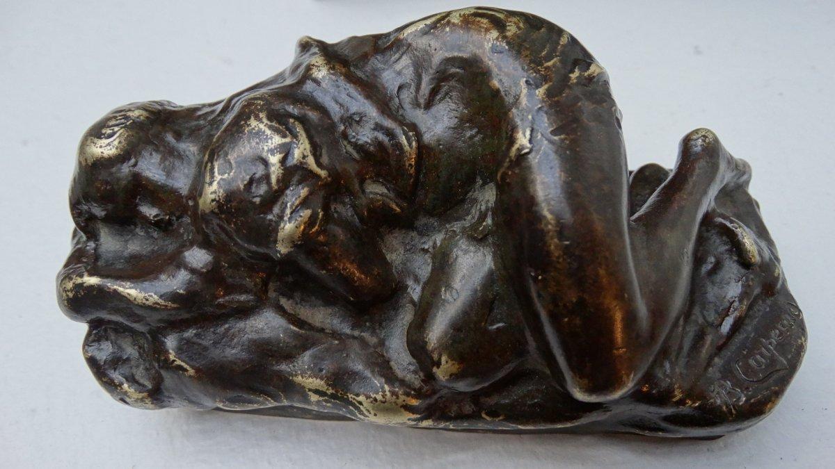 """""""esquisse d'une jeune femme endormie"""" par Jean-Baptiste  Carpeaux"""