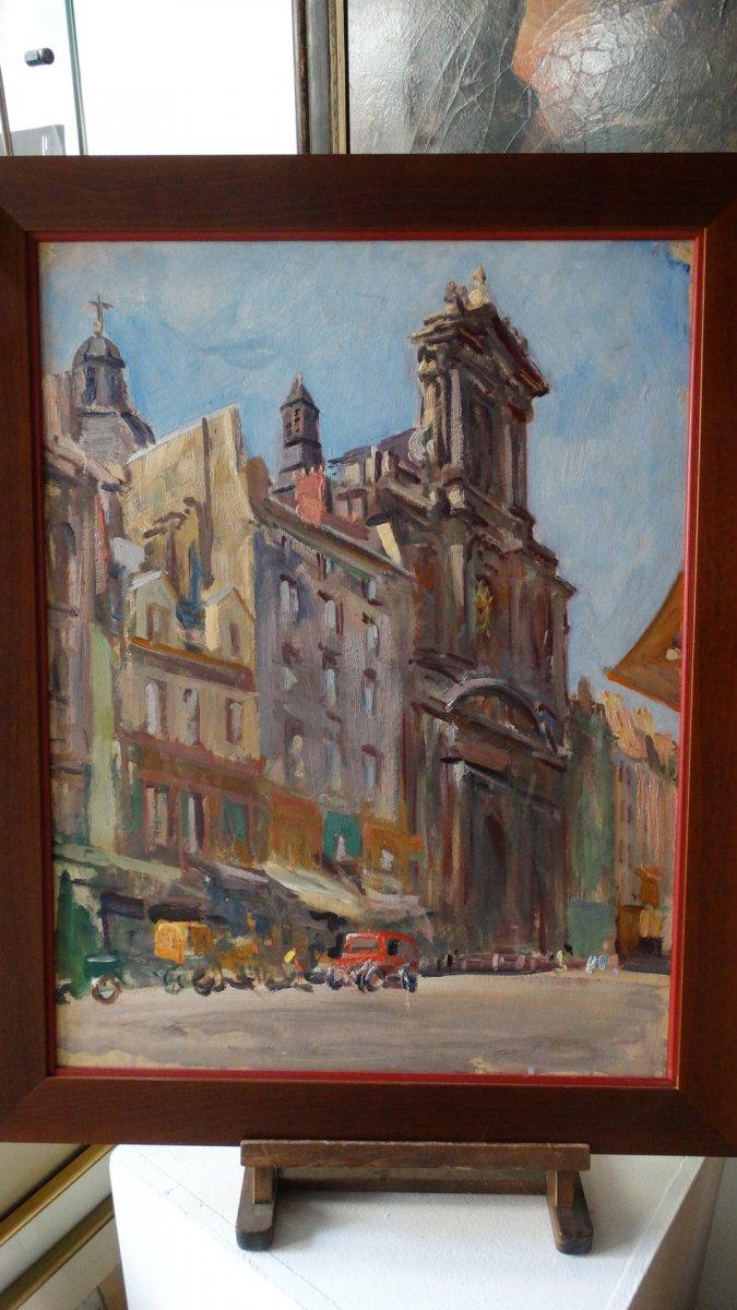 L'église Saint-Paul à Paris par L. Jonas