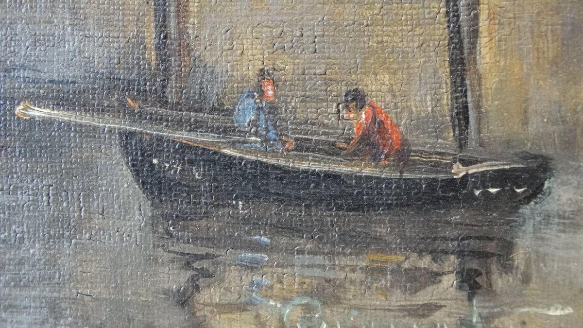 """""""Le port de Boulogne sur mer""""  au 19ème siècle -photo-3"""