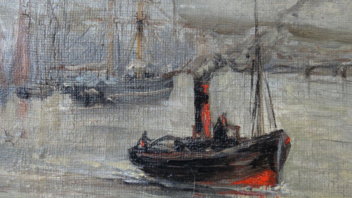 """""""Le port de Boulogne sur mer""""  au 19ème siècle -photo-4"""