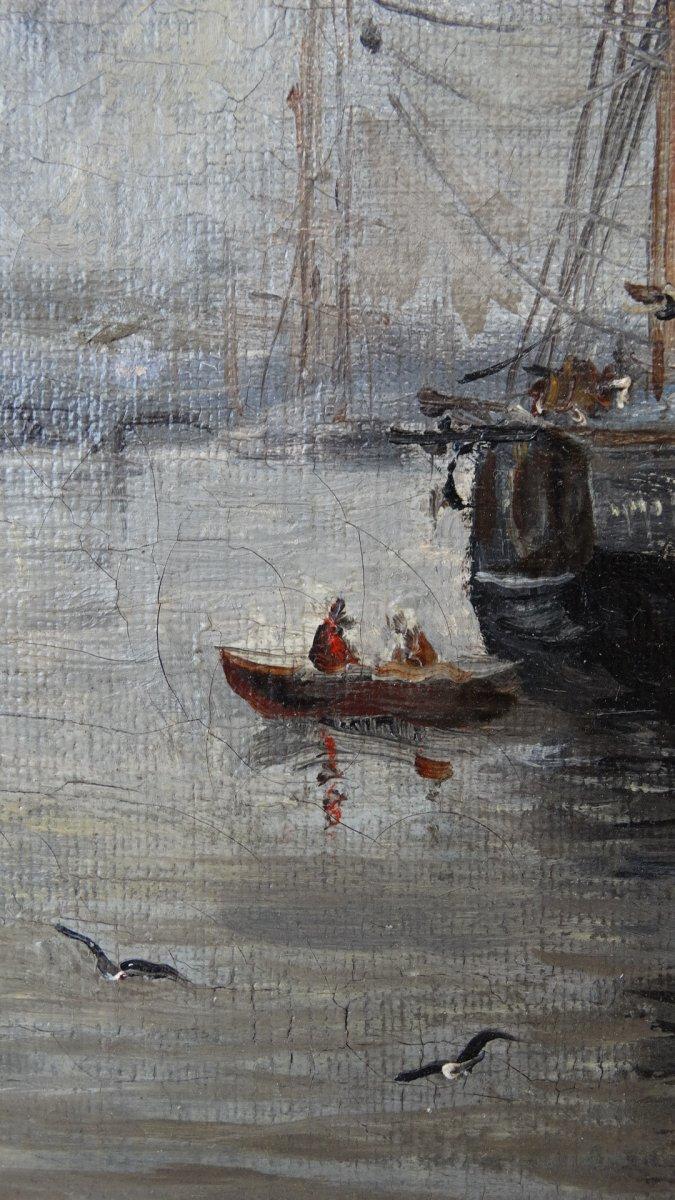 """""""Le port de Boulogne sur mer""""  au 19ème siècle -photo-2"""