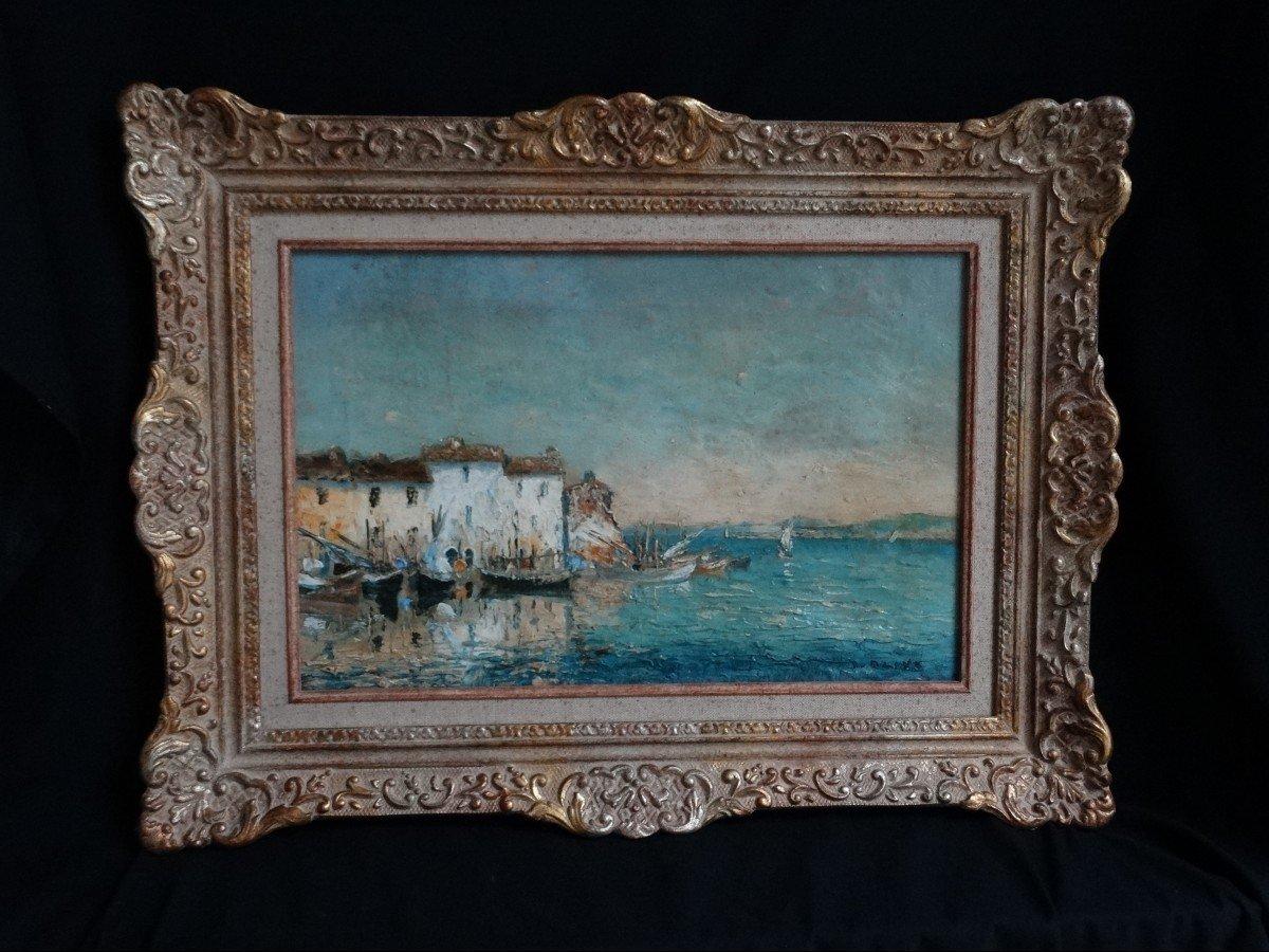 """paysage des Martigues, par Olive Henri"""