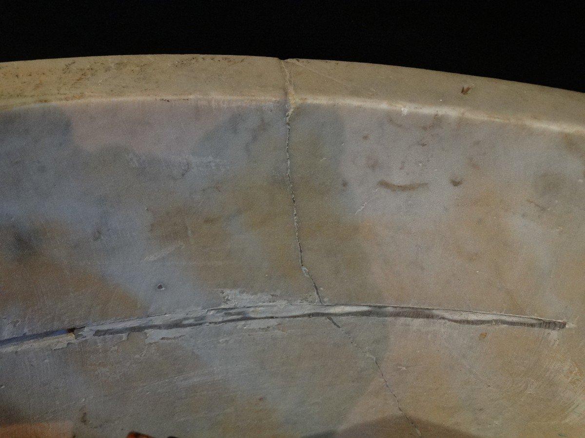 Vasque de parc en marbre de Carrare-photo-5