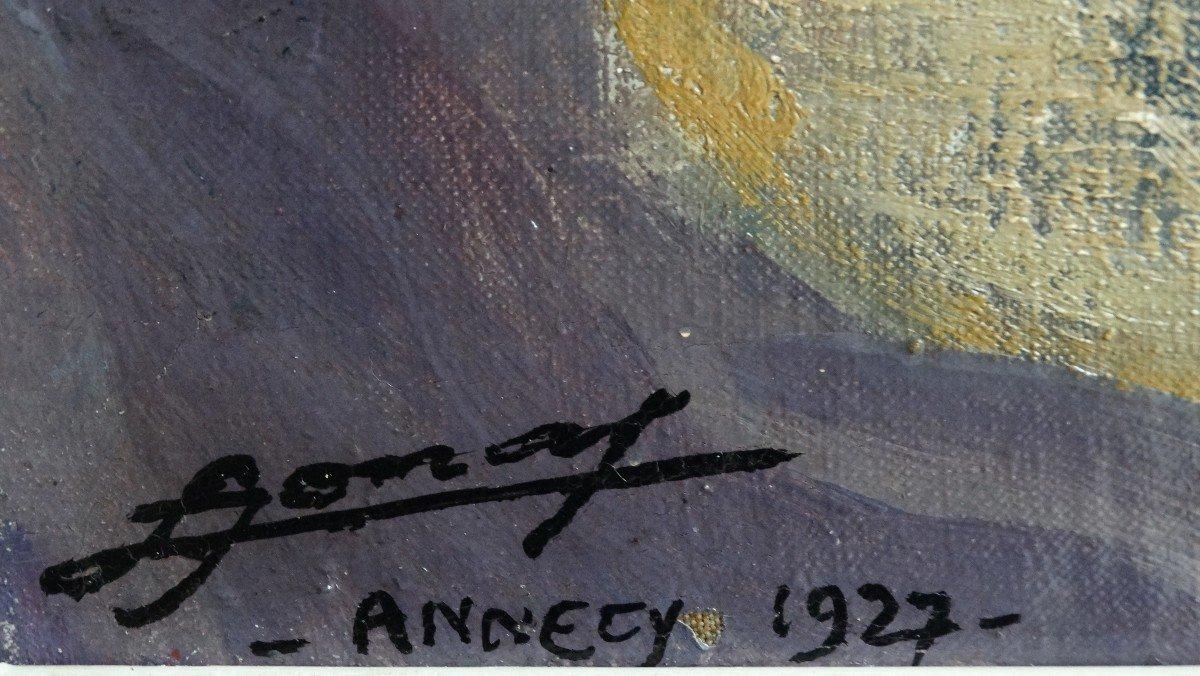 """""""Le porchelet à Annecy"""" par Lucien Jonas-photo-1"""