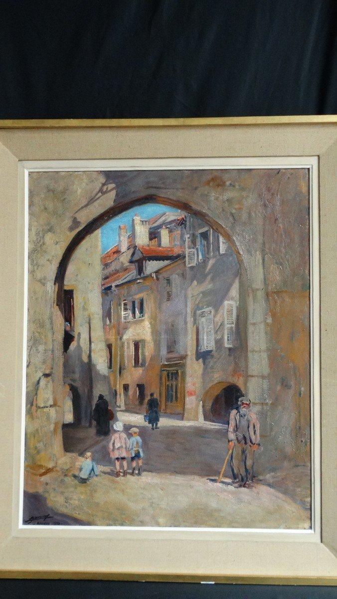"""""""Le porchelet à Annecy"""" par Lucien Jonas"""