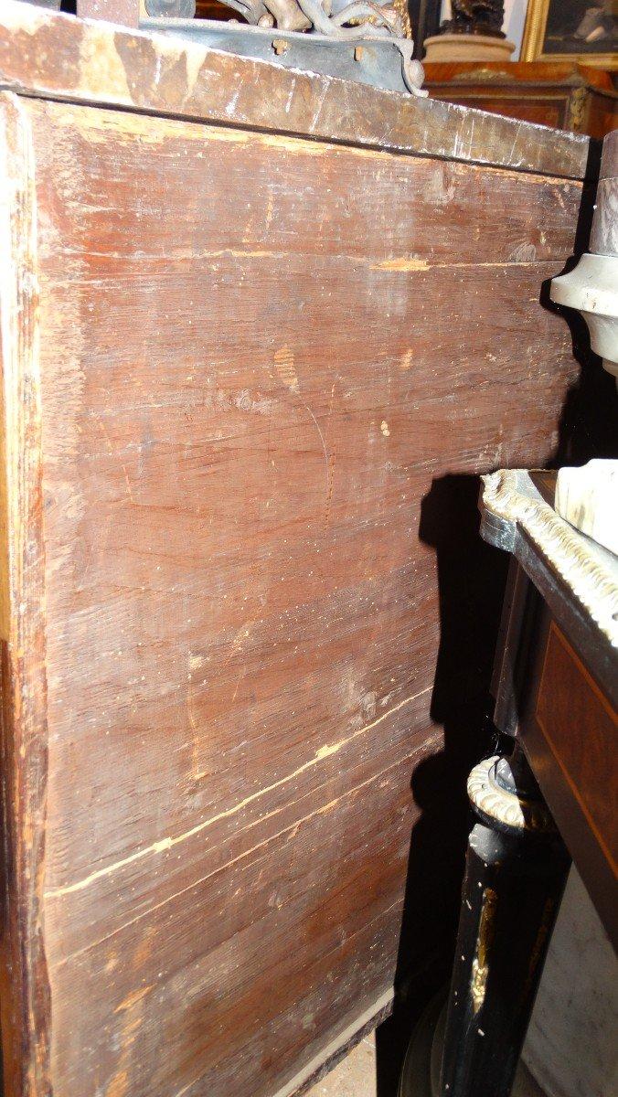 commode galbée  d'époque Régence -photo-1