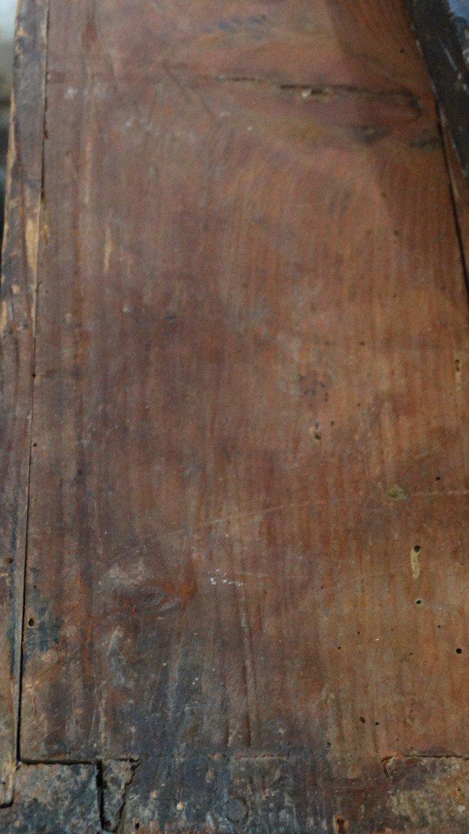 commode galbée  d'époque Régence -photo-6