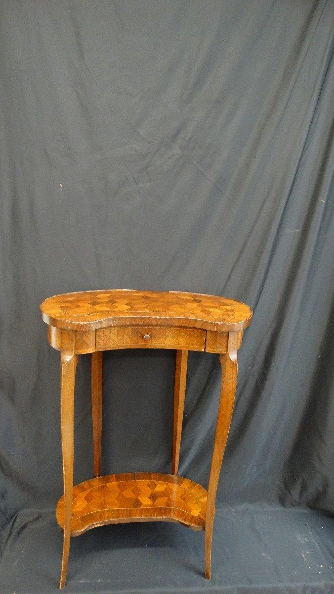 table rognon marqueterie-photo-2