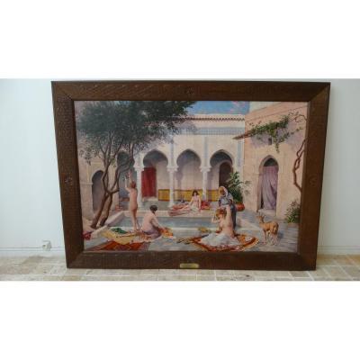 La Toilette au Harem (Gaspard de Toursky) Orientalisme