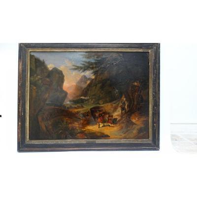 Scêne Mythologique par Anselme Feuerbach
