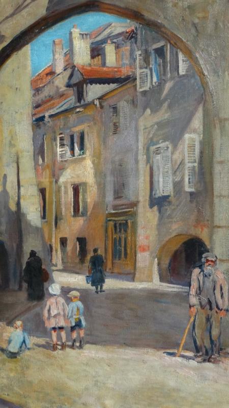"""""""Le porchelet à Annecy"""" par Lucien Jonas-photo-2"""
