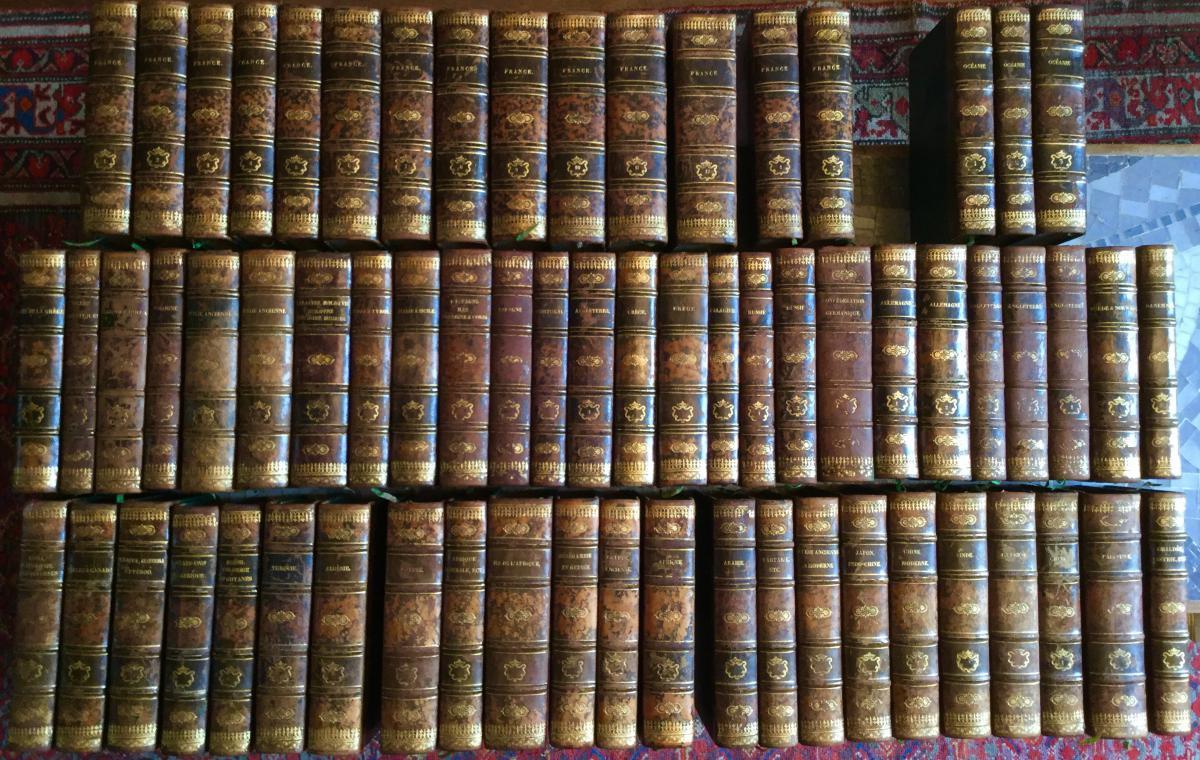 l Univers histoire et description de tous les peuples  66 Volumes édition Original 1835-1863 firmin Didot livre