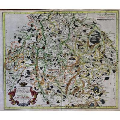 Sanson D Abbeville Metz Moselle 1656 Carte Géographique Par Nicolas Sanson