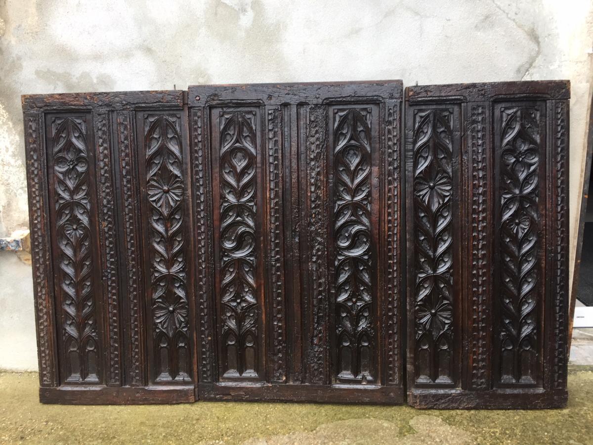 Panneaux Gothiques XVème
