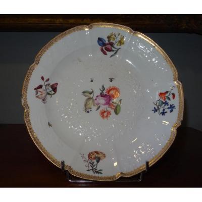 Assiette En Porcelaine, Sèvres