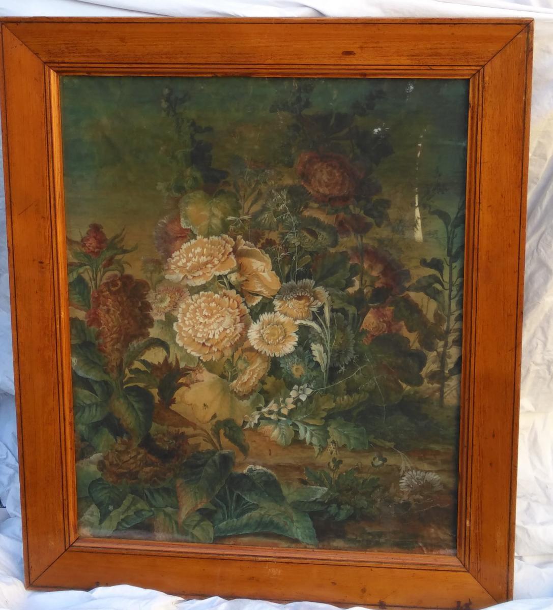 Paire De Natures-mortes d'Anne Brettingham De Carle, XVIIIe siècle-photo-1
