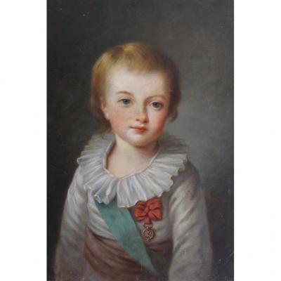 Louis-joseph De France, Huile, Entourage De Vigée Lebrun