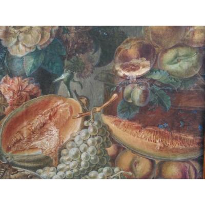 Paire De Natures-mortes d'Anne Brettingham De Carle, XVIIIe siècle