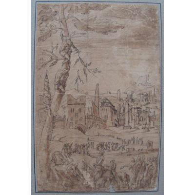 Ecole Du Nord Du XVIème Siècle, Jésus à Jérusalem