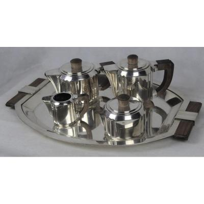 Christofle Art Deco Model Tea Service