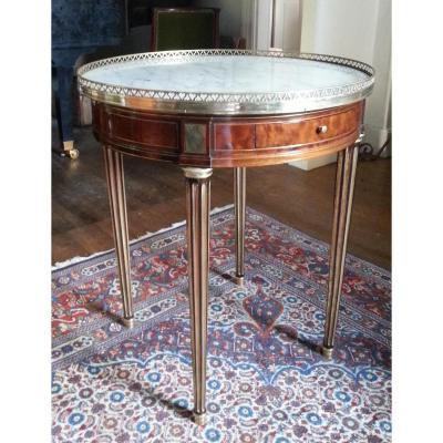 Guéridon Table Bouillotte d'époque Louis XVI