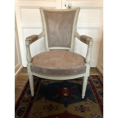 Lacquered Directoire Period Armchair