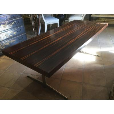 Large Coffee Table In Rosewood 1960/70