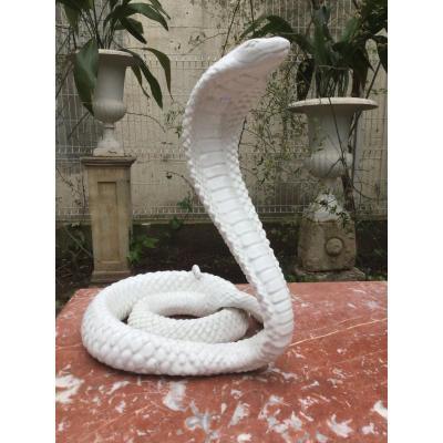 Cobra En Céramique Des années 70