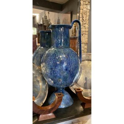Large Ceramic Vase Around 1950