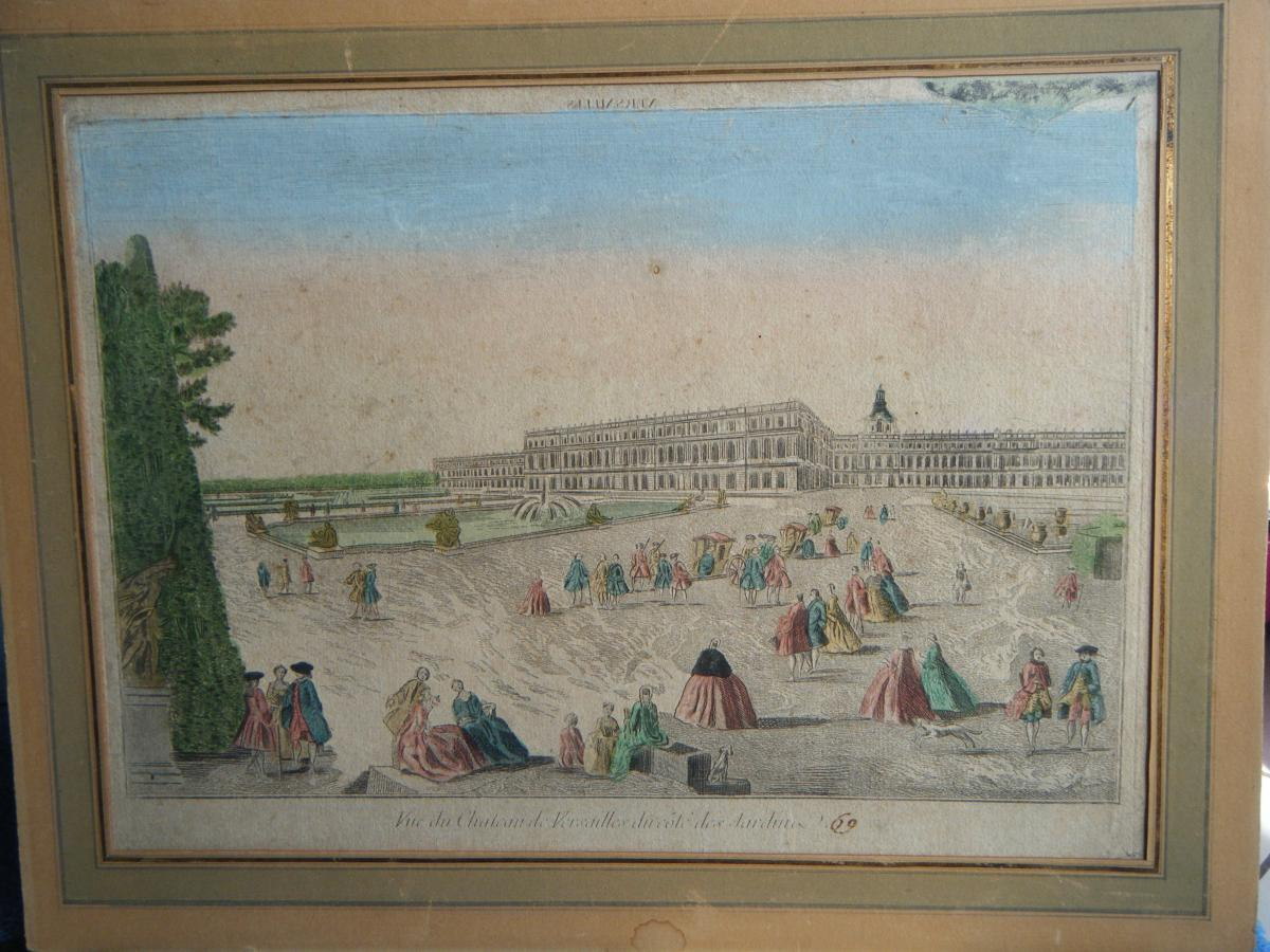 Vue Du Chateau De Versailles-photo-2