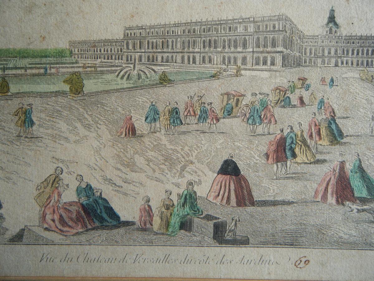 Vue Du Chateau De Versailles-photo-3