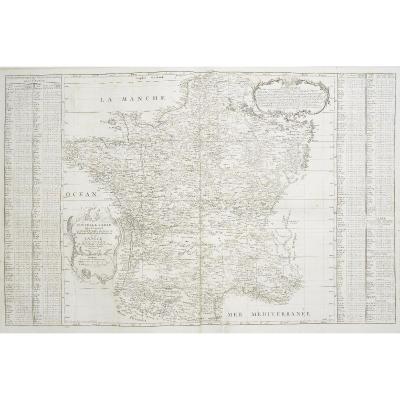 Carte Topographique De La France, Levée Par Ordre Du Gouvernement à L'échelle De 1 Pour 20000