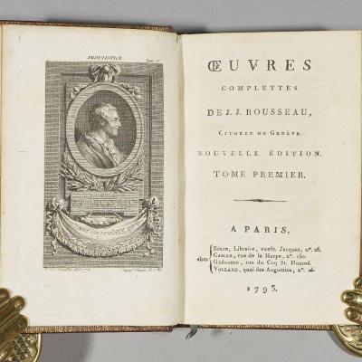 Œuvres Complettes De J.j. Rousseau, Citoyen De Genève. Nouvelle édition.