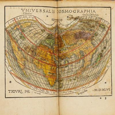 Rudimentorum Cosmographicorum Ioan. Coronensis Libri III. Cum Tabellis Geographicus Elegantissi