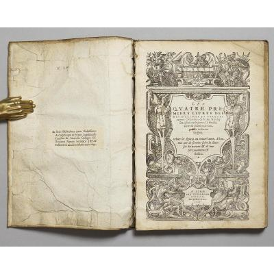 Les Quatre Premiers Livres Des Navigations Et Pérégrinations Orientales, De N. De Nicolay Dauph