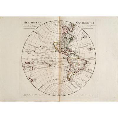 Western Hemisphere. Drawn Up In 1720 For The Particular Use Of The Roy.
