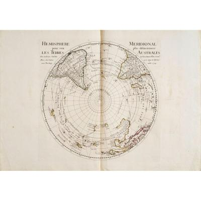 Hemisphere Meridional To See More Distinctly The Southern Territories