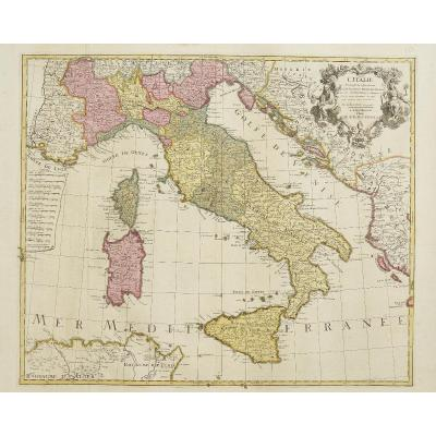 Italy, Drawn Up On The Observations Of Mrs. From The Royal Academy Of Sciences, On Those Of