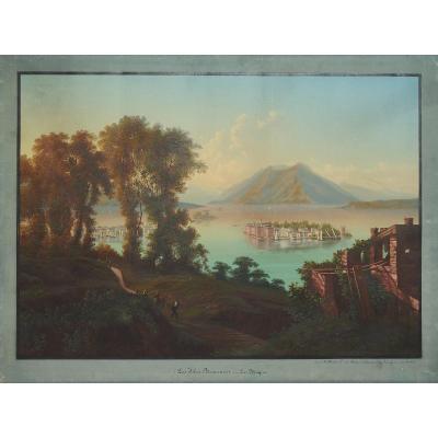 Les Isles Boromées Au Lac Majeur