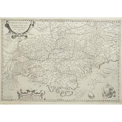Provinciae, Regionis Galliae, Vera Exactissimaq Descriptio. Petro Ioanne Bompario Auctore. Prov